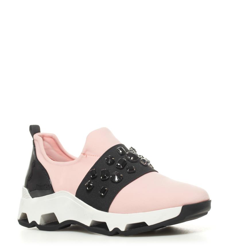 SixtySeven Zapatillas Jewel rosa, negro Altura plataforma: 4cm