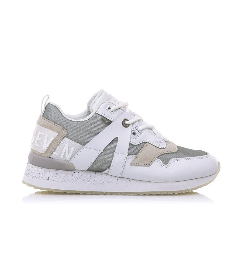 Comprar SixtySeven Zapatillas de piel Leonel  blanco, plata