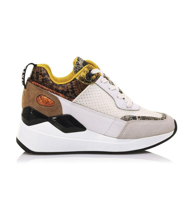 Comprar SixtySeven Beige scarpe in pelle Kuman -Platform altezza: 5cm