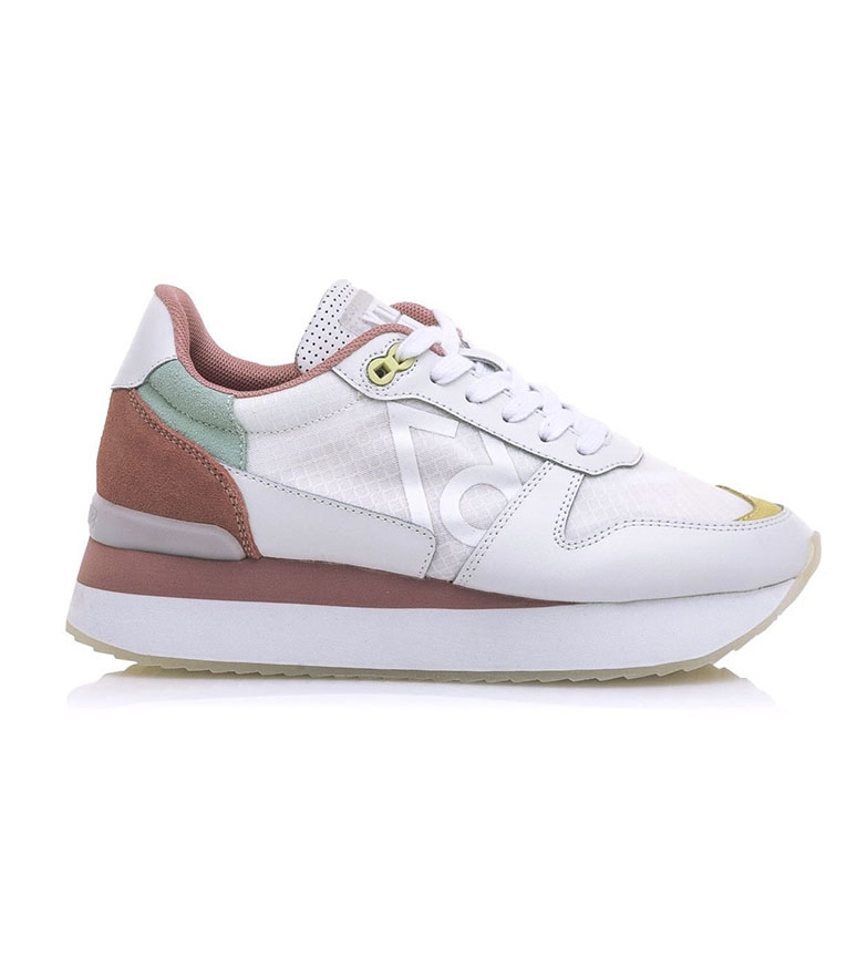 Comprar SixtySeven Mesta leather shoes white, multicolor