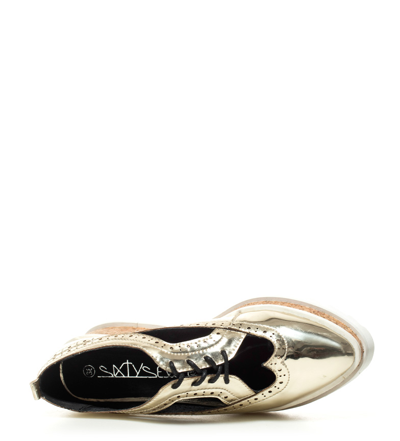 Altura SixtySeven Jacobina Zapatos cuña 6cm Zapatos SixtySeven dorado rwXrpq