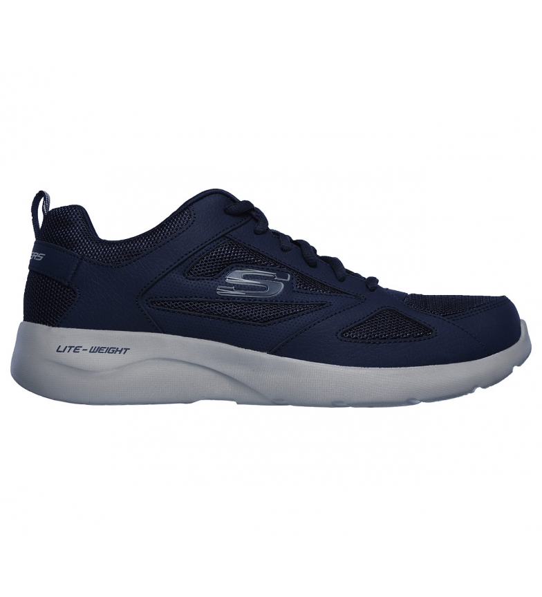 Comprar Skechers Dynamight 2.0 Fallford Marine Leather Shoes