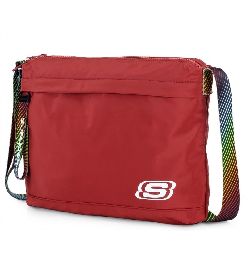 Skechers Saco de ombro pequeno Unisex S897 vermelho -26x33x5,5cm
