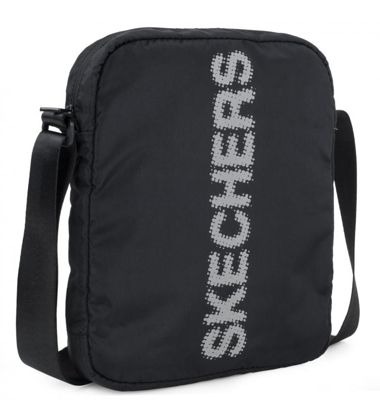 Skechers Borsa a tracolla piccola unisex S903 nera -25x20x6cm