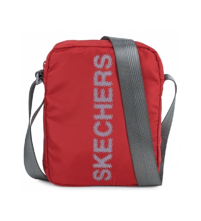 Comprar Skechers Small Unisex shoulder bag S903 deep red -25x20x6cm