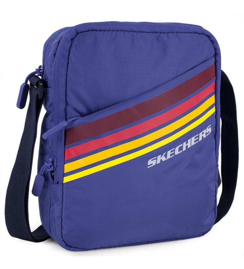 Skechers Small Unisex shoulder bag S914 blue -23x17x7cm