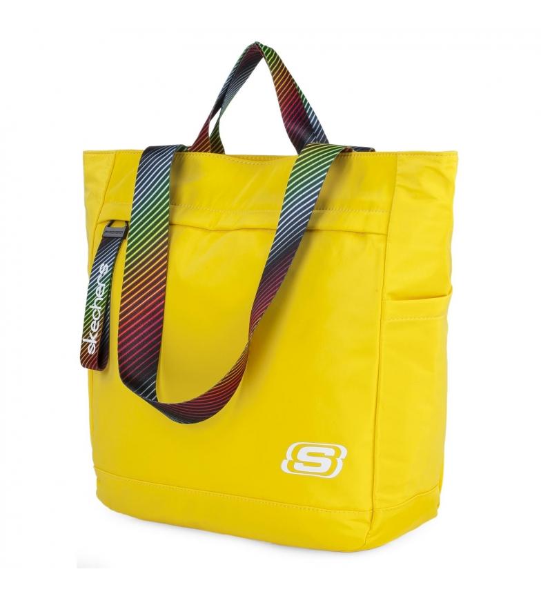 Skechers Tote bag S896 giallo -35x32,5x12,5cm