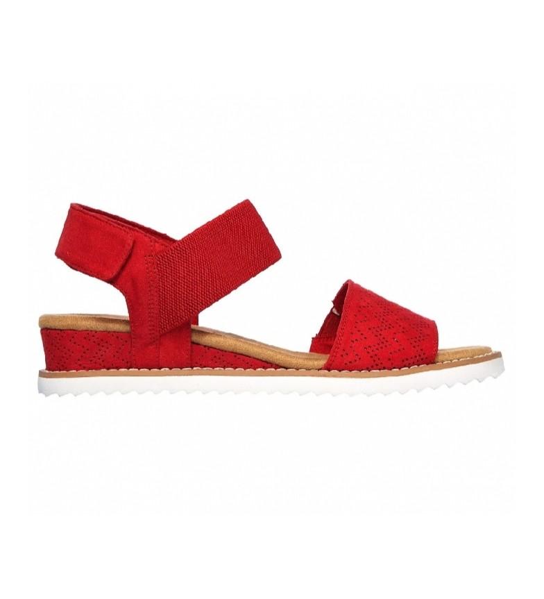 Comprar Skechers Sandálias Kiss do Deserto vermelho