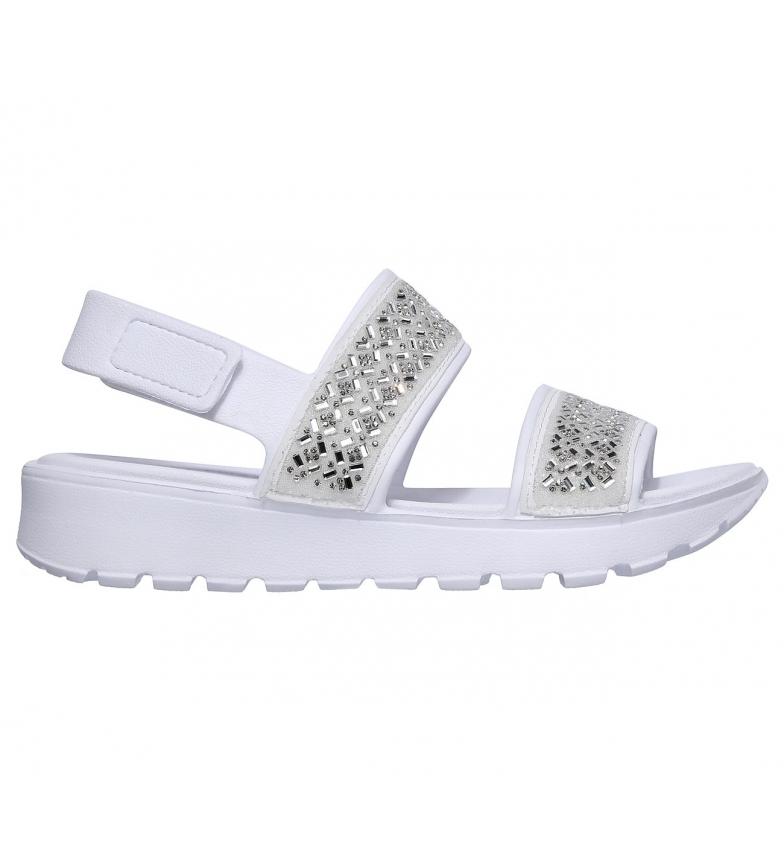 Comprar Skechers Sandalias Cali Gear Footsteps - Glam Party blanco
