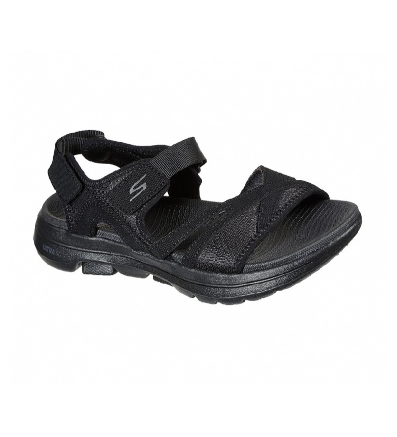Skechers Sandales Go Walk 5-Restaurées noir