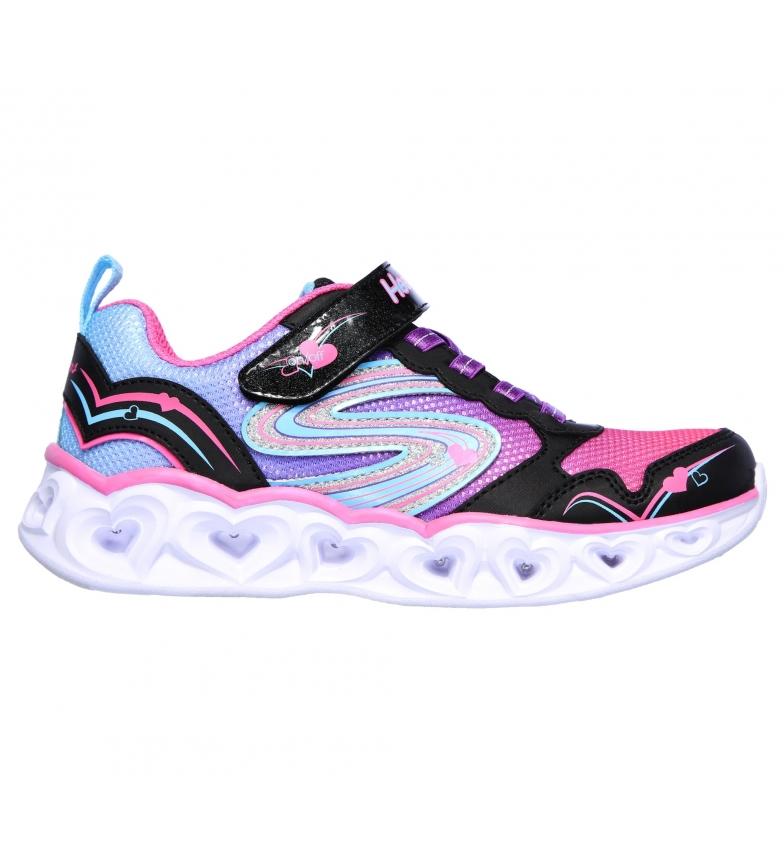 Comprar Skechers Luzes do Coração Sapatilhas Love Spark Sneakers preto, rosa