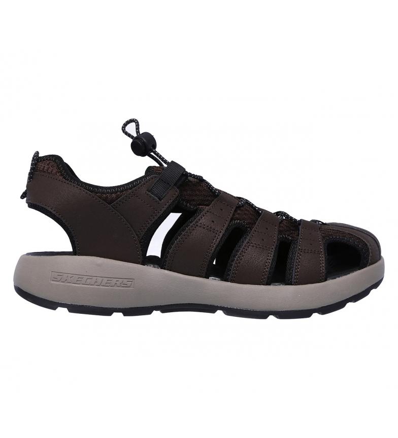 Comprar Skechers Sandalias de piel Melbo Journeyman 2 marrón