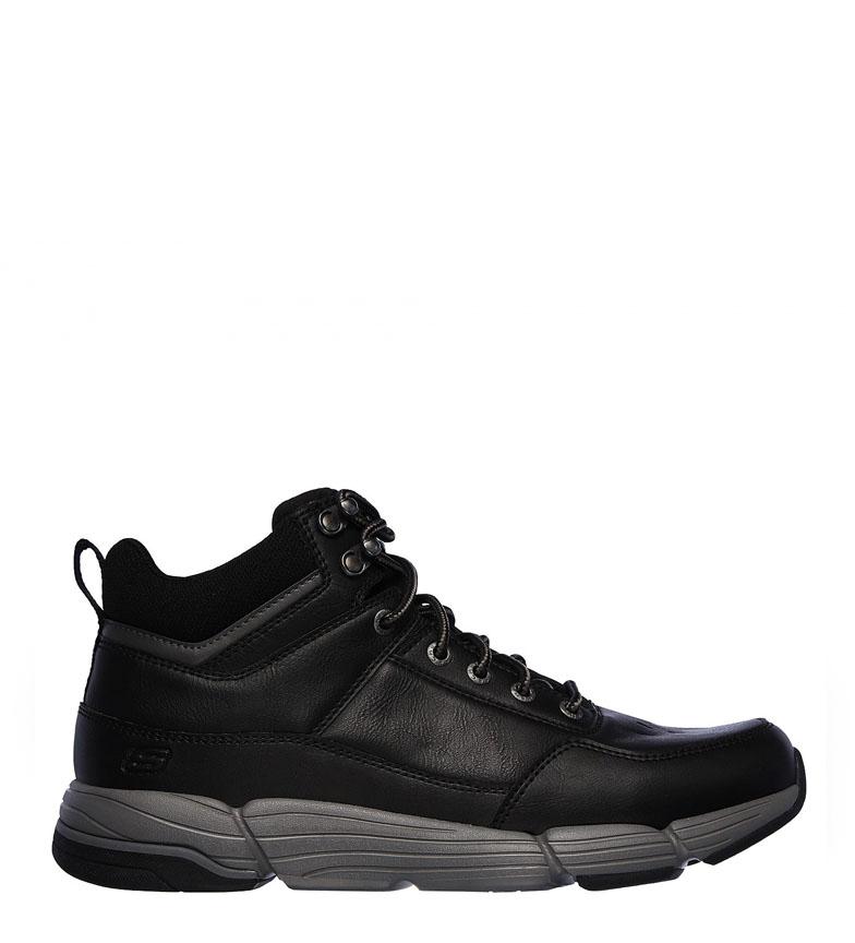 Comprar Skechers Metco Boles bottes en cuir noir -Relaxed Fit
