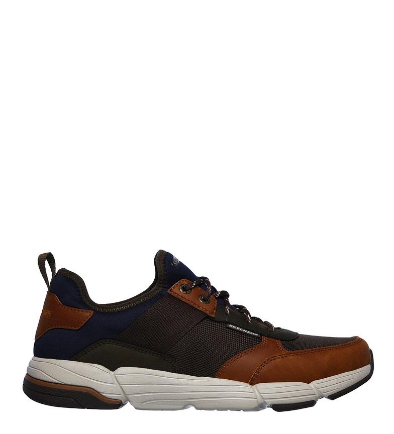 Comprar Skechers Metco Baskets Parken marron, olive -Relaxed Fit