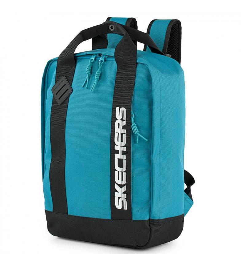 Skechers Mochila escolar. s992 -30x41x13,5cm-  azul