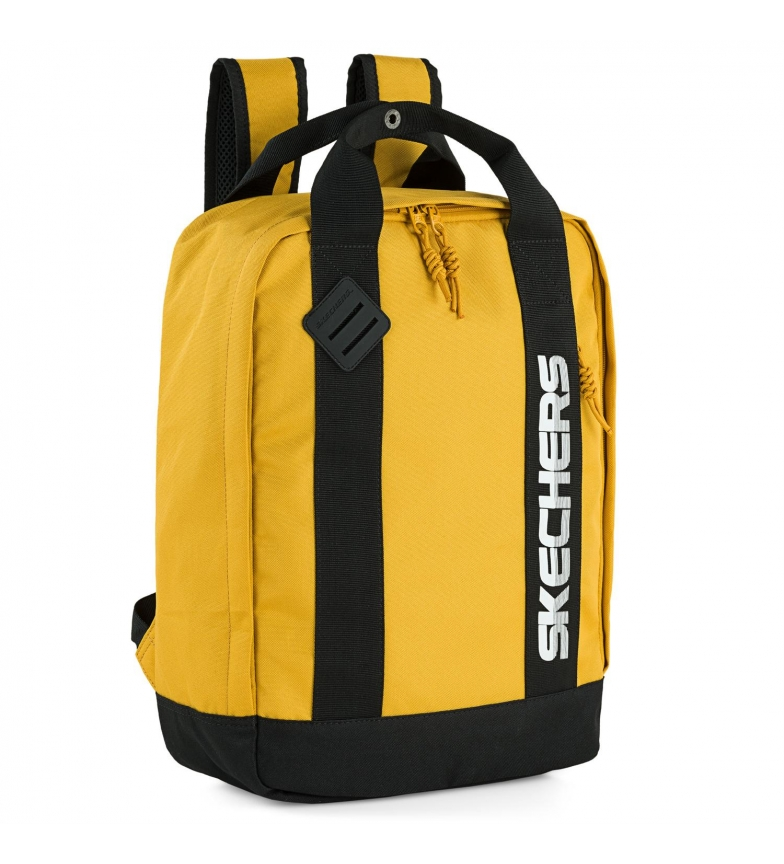 Skechers Zaino scuola. s992 -30x41x13,5cm- giallo