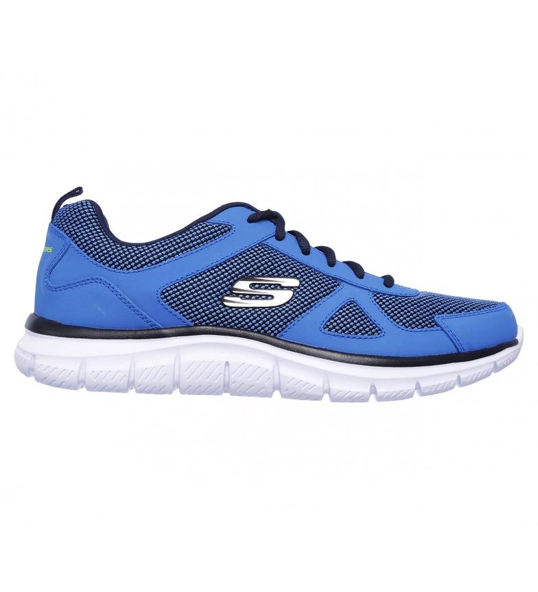 Skechers Sneakers Track in pelle - Bucolo azul