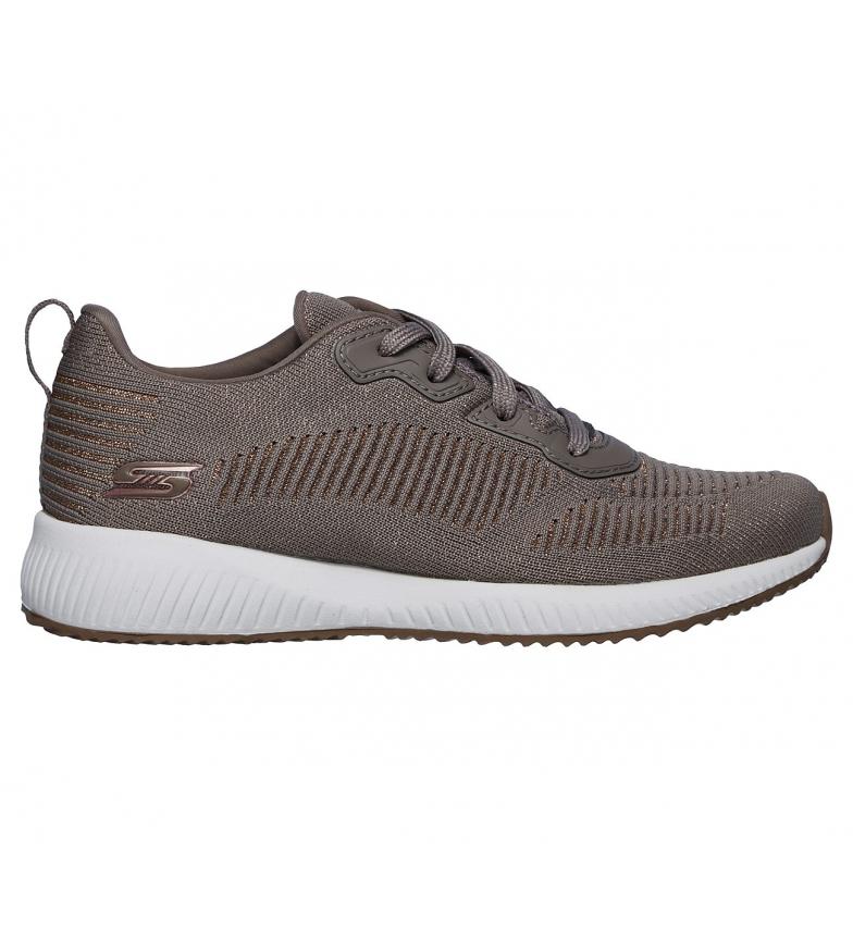 Comprar Skechers Bobs Sport Squad Glam League scarpe taupe