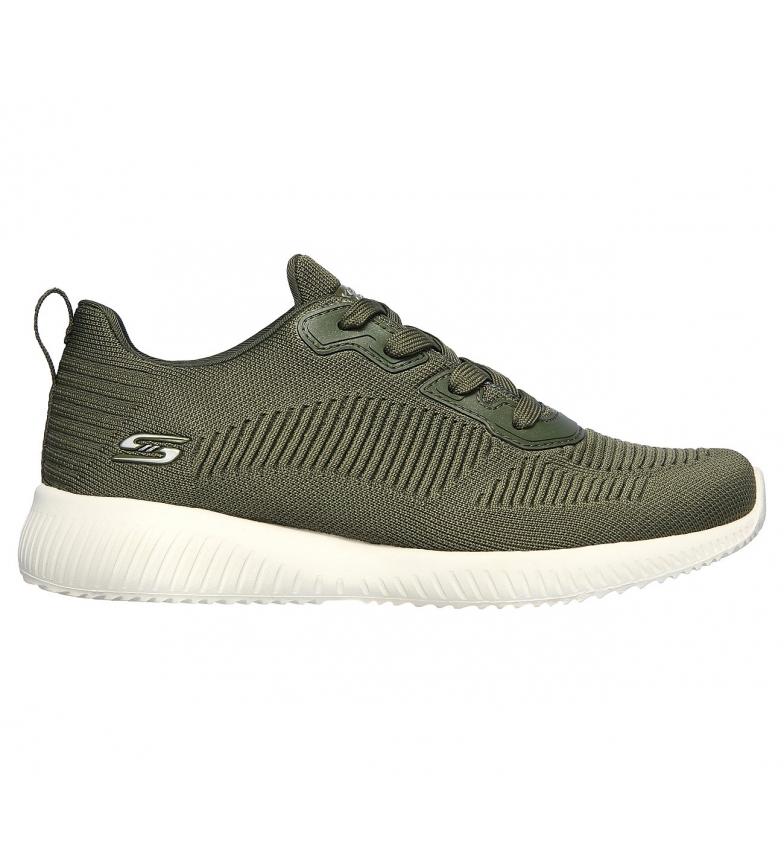 Comprar Skechers Bobs Sport Squad Tough Talk Shoes verde-escuro
