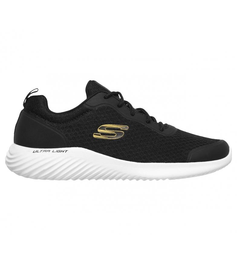 Comprar Skechers Bounder slippers black, gold