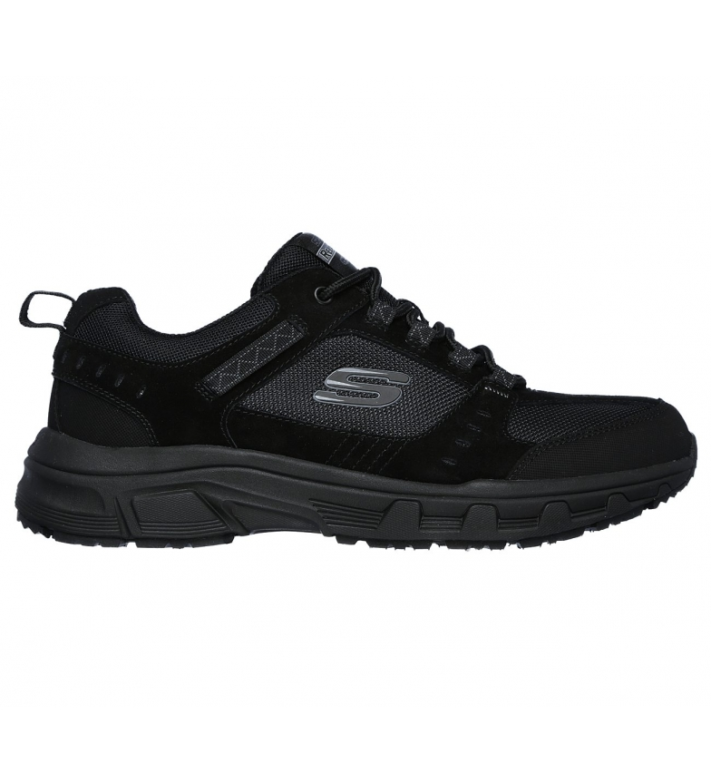 Comprar Skechers Scarpe Oak Canyon in pelle scamosciata nere