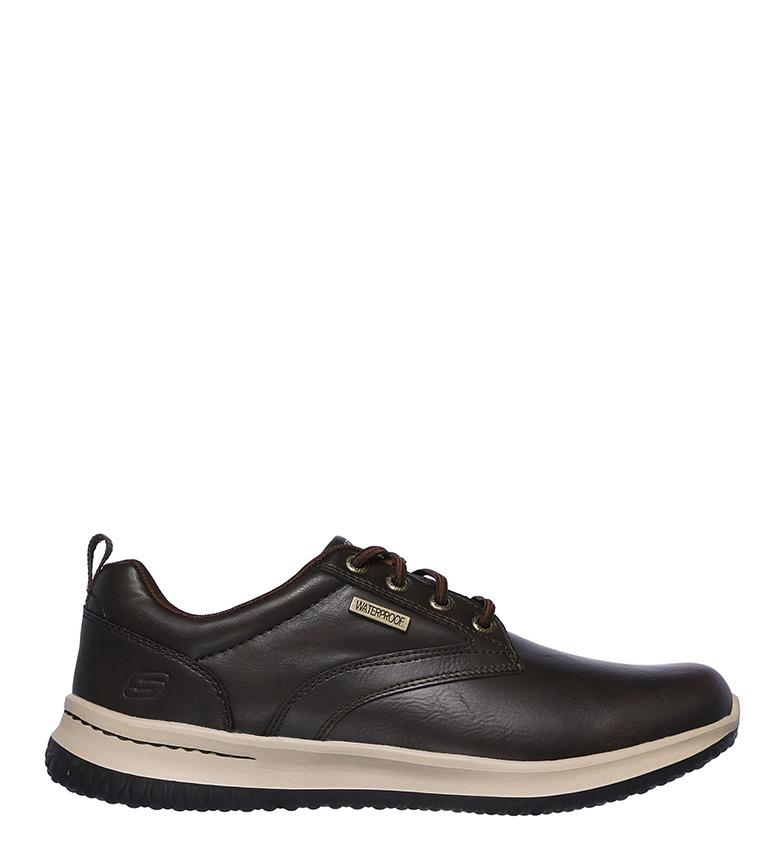 Comprar Skechers Delson Antigo tênis de couro marrom
