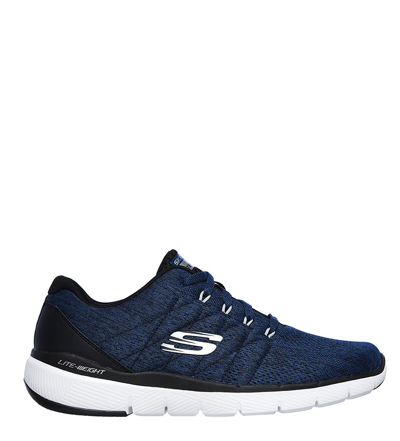 Comprar Skechers Zapatillas Flex Advantage 3.0 Stally azul, negro