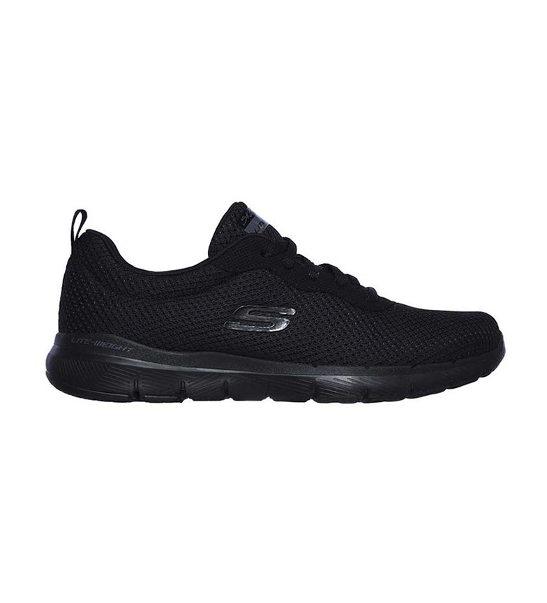 Comprar Skechers Flex Appeal 3.0-First Insight Black (Apelo Flexível 3.0-Primeiro Insight Preto)
