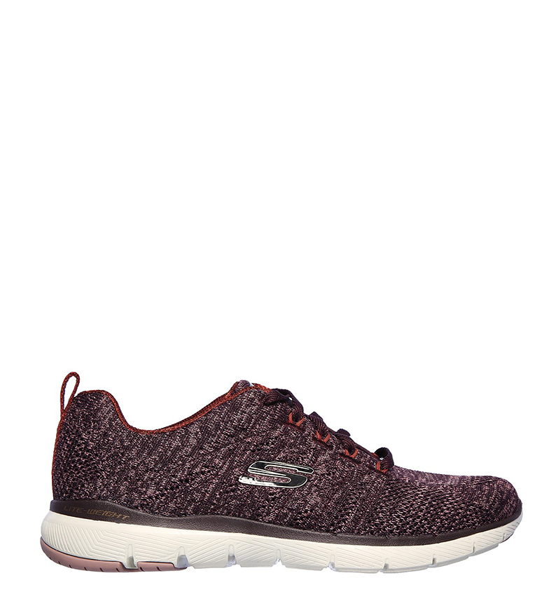 Comprar Skechers Flex Appeal 3.0 High Tides Burgundy Shoes