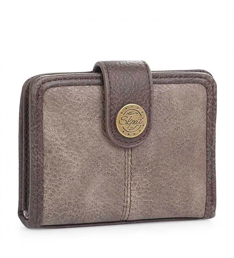 Comprar Skpat Portefeuille 95403 brun -7,8x10,5cm