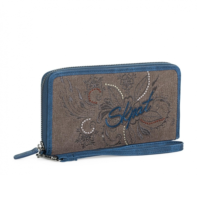 Comprar Skpat Carteira 95602 azul -11x20,5cm