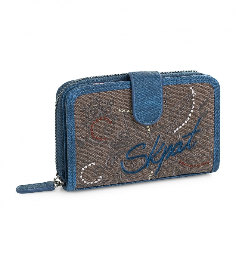 Comprar Skpat Carteira 95614 azul -9x14cm