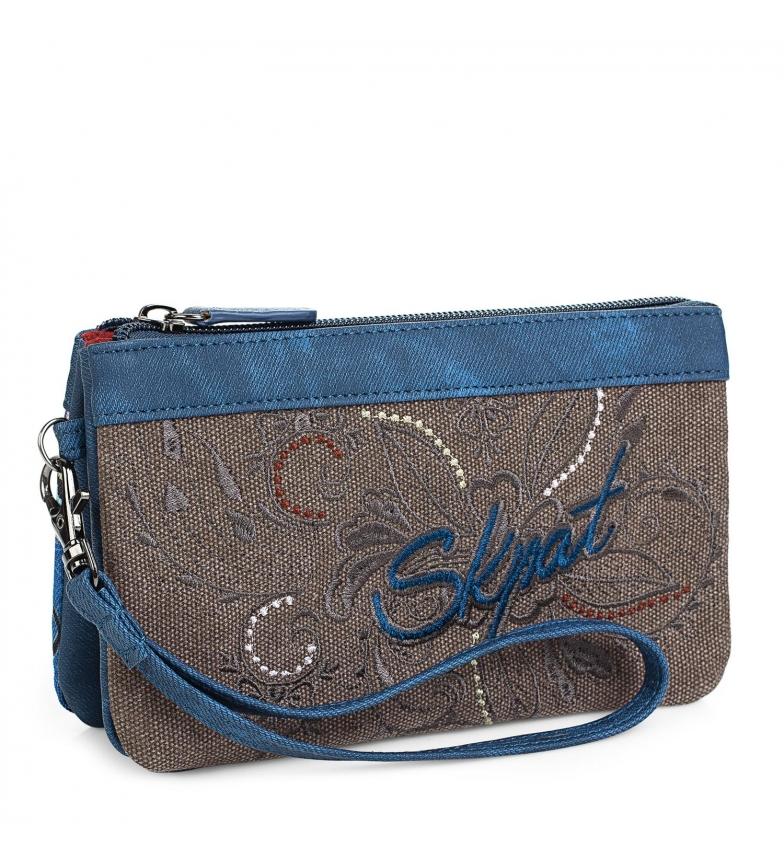 Comprar Skpat Carteira 95619 azul -9x17,5cm