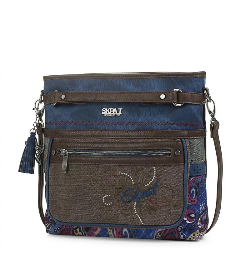 Comprar Skpat Borsa 95655 blu -28x28x6,5cm-