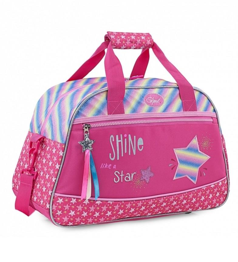 Skpat Children's Polyester Sports Bag 131345 fuchsia -45x28x20cm