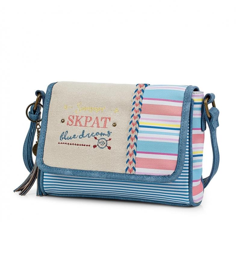 Comprar Skpat Woman Shoulder Bag 302579 blue -17x22,5x22,5x5,5cm