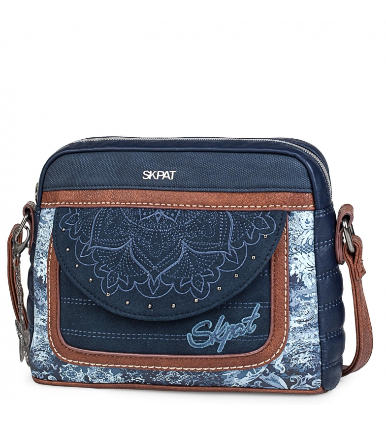 Comprar Skpat Small shoulder bag 304587 blue -17x22,5x4,5cm