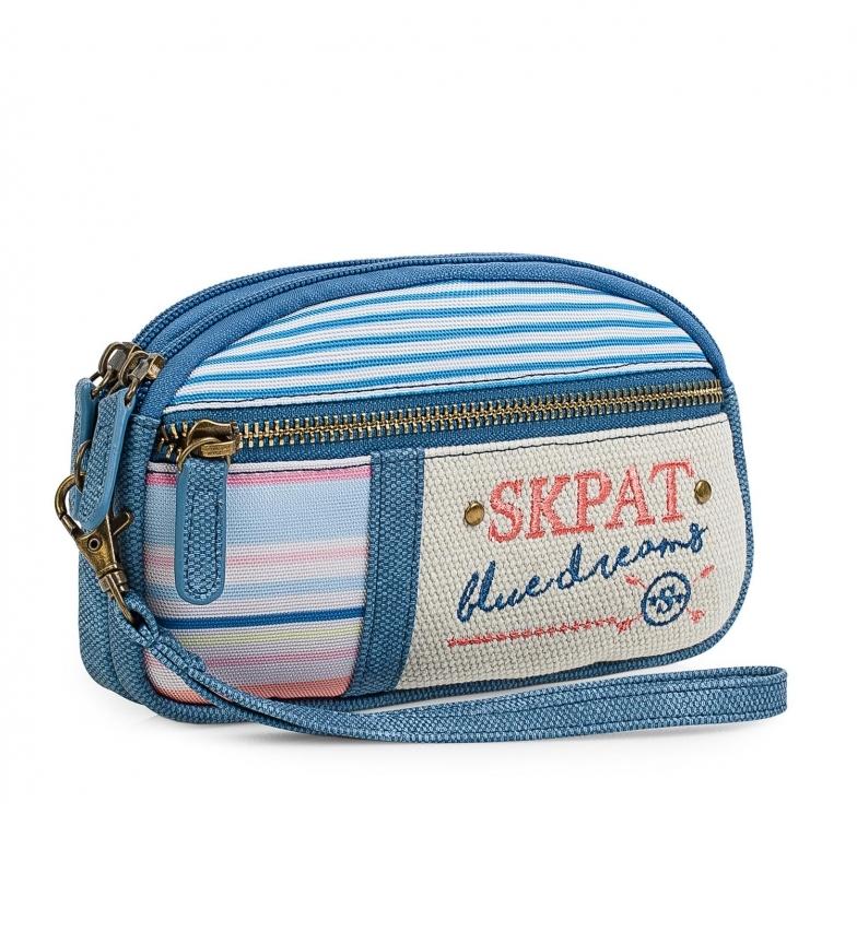 Comprar Skpat Women's Hand Handle Wallet 302512 blue -9x17,5x1cm