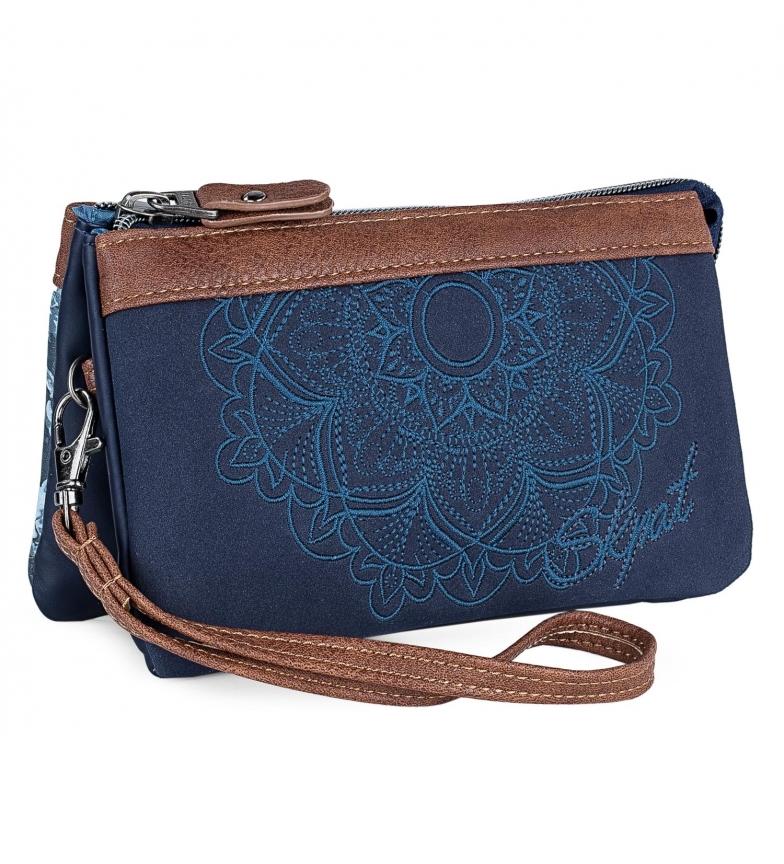 Comprar Skpat Carteira Grande 304519 azul -9x17,5x1cm