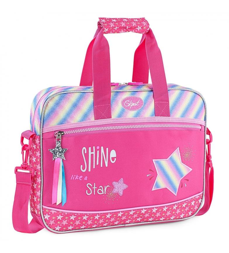 Comprar Skpat Portafoglio per bambini per ragazza stampato 131306 fucsia -39x29x6cm-