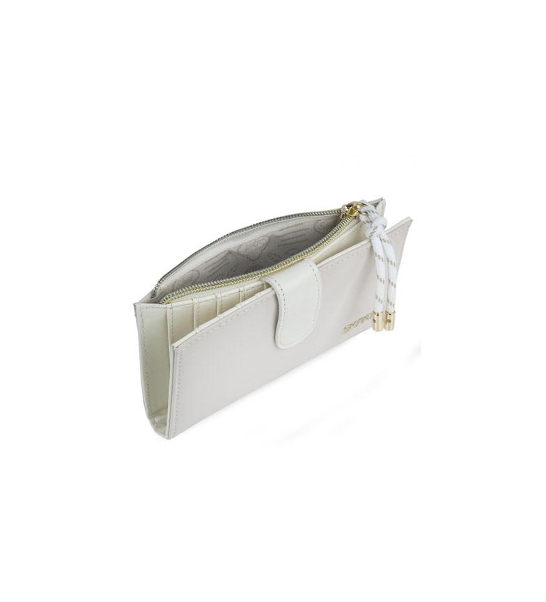 Skpat Bolsa de carteira 307621 -16,5x9x1cm- branco
