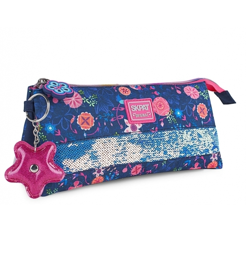 Comprar Skpat Trousse à crayons Filles Trousse à crayons 131511 bleu marine -23x11x5cm