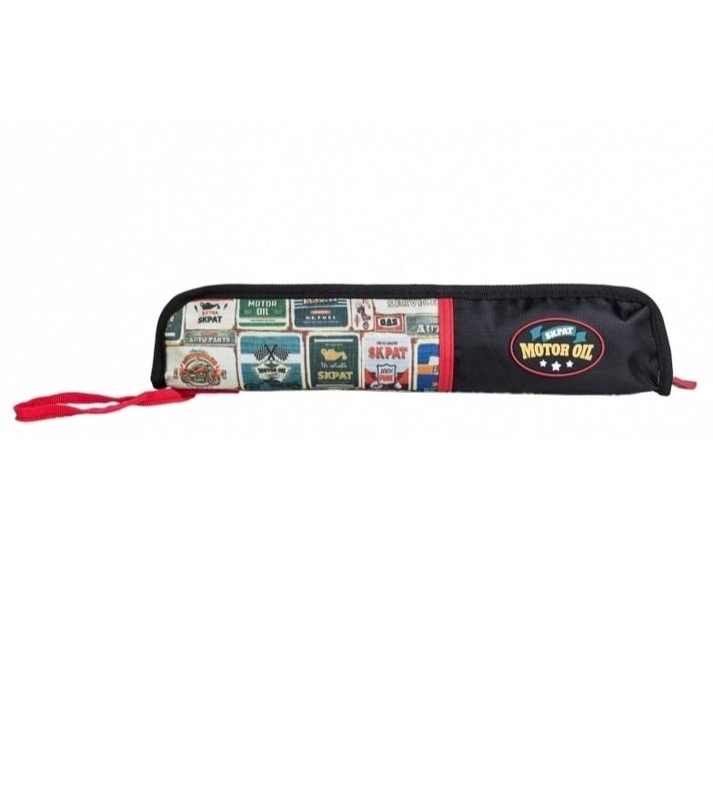 Comprar Skpat Étui rembourré pour flûte d'enfant 130503 noir -37x8x2cm