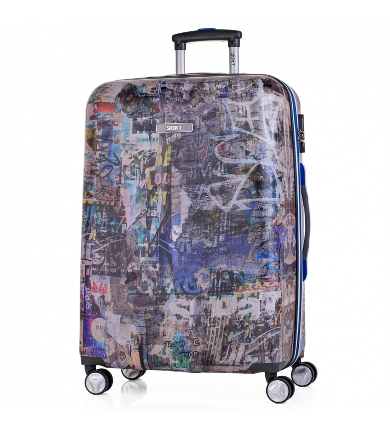 Comprar Skpat Maleta de viaje trolley 60cm Skpat Belgrado Travel gris oscuro -67x44x24cm-