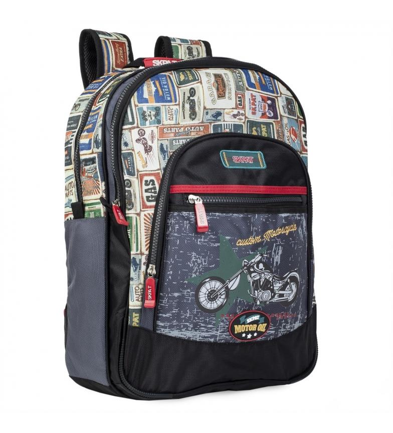 Comprar Skpat Sac à dos pour l'école primaire 130501 noir -42x33x15cm