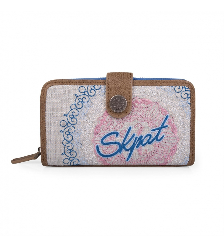 Comprar Skpat SKPAT Galaxy wallet blue color -9x16x3-