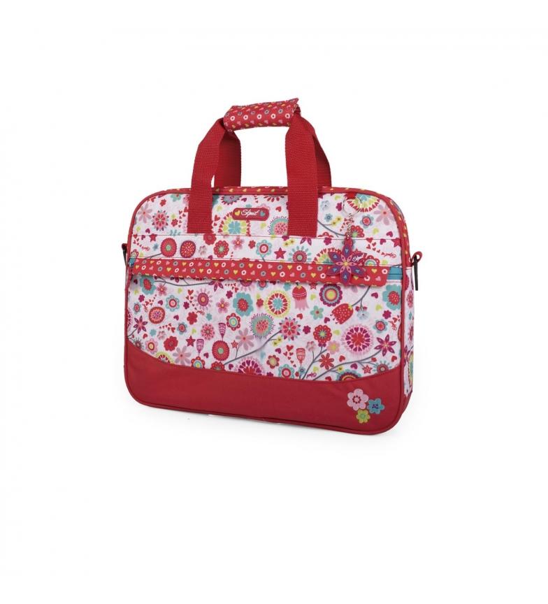 Comprar Skpat SKPAT Red Flowers After School Briefcase -29x30x6-