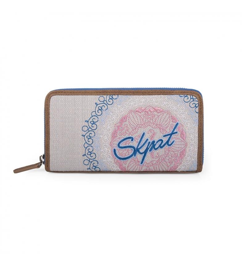 Comprar Skpat SKPAT Galaxy wallet blue color -9,5x19x3-
