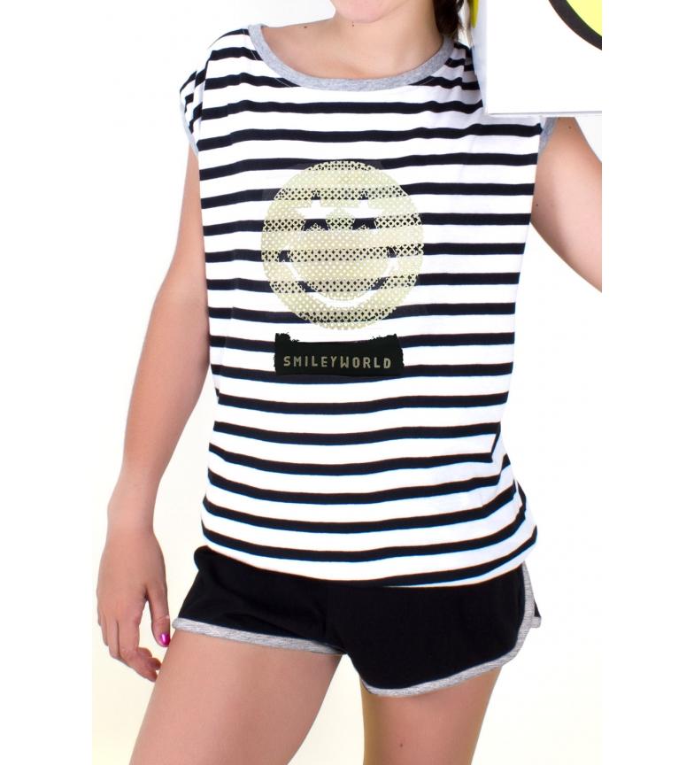 Comprar SMILEY Pijamas Black Tween Correias Contemporâneas