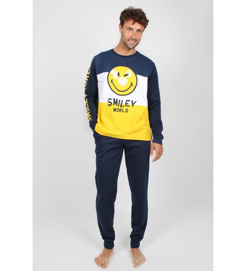 Comprar SMILEY Pajama manga comprida fototipos marinhos